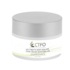 Ultimate Deep Healing Pain Cream with Emu Oil 1oz - 60mg CBD